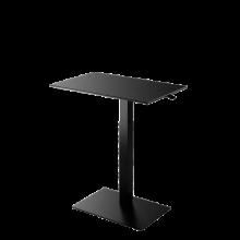 Mahtuva työpöytä BB 78x50  cm musta